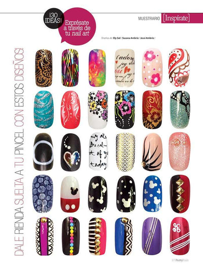 Pretty Nails 14 - Diseños divertidos con gel esmaltado - Formato Digital - ToukanMango