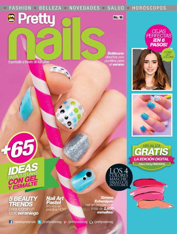 Pretty Nails 16 - Nail Art Pastel - Formato Digital