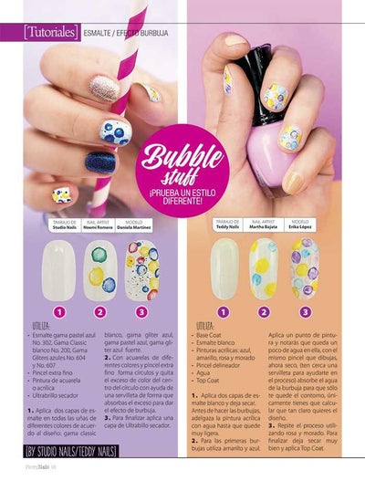Pretty Nails 18 - Diseños de Fiesta - Formato Digital - ToukanMango