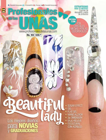 Profesionales de las Uñas 102 - Beautiful lady - Formato Digital
