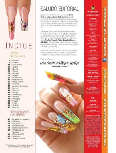 Profesionales de las Uñas 104 - Candy Crush Nails - Formato Digital - ToukanMango
