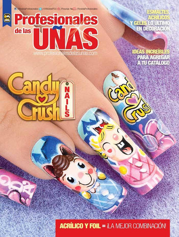 Profesionales de las uñas 104 - Candy Crush Nails - Formato Digital
