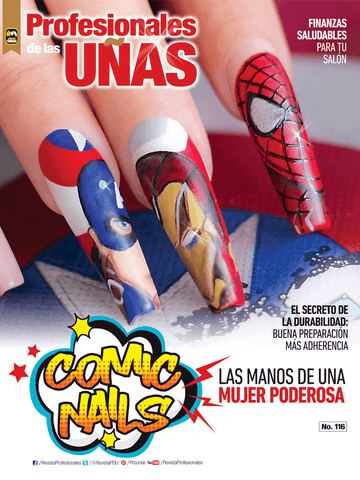 Profesionales de las Uñas 116 - Comic Nails - Formato Digital