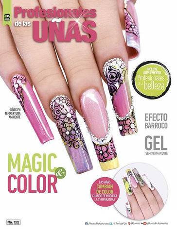 Profesionales de las Uñas 122 - Magic & Color - Formato Digital