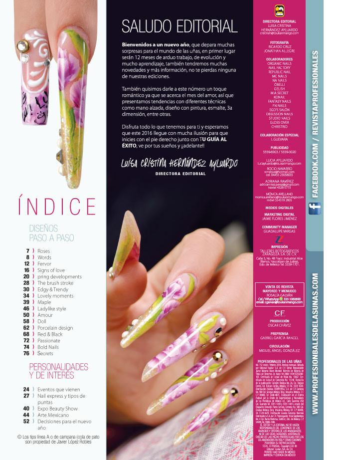 de las Uñas 112 - Nails love - Formato Digital - ToukanMango
