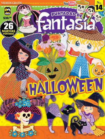 Revista Puntadas de Fantasía no.14 - Halloween - Formato Digital