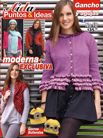 Revista Aida Puntos & Ideas no. 18 - Moderna Y Exclusiva - Formato Impreso