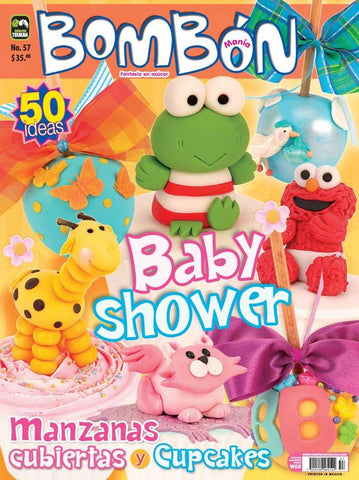 Revista Bombonmania no. 57 - Baby shower - Formato Impreso