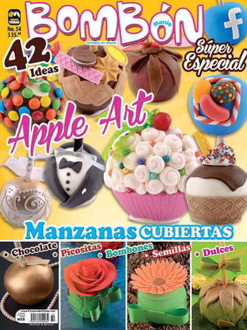 Revista Bombonmania no. 54 - Apple Art - Formato Impreso