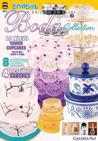 Revista Bombonmania Especial no. 7 - Boda Collection - Formato Impreso