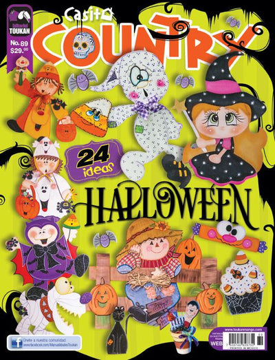 Revista Casita Country 89 - Halloween - Formato Impreso - ToukanMango