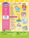 Revista El mundo del papel Crepe no. 60 - Baby Shower - - Formato Digital