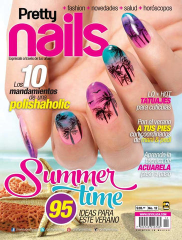 Revista Pretty Nails no. 12 - Summer Time - Formato Impreso