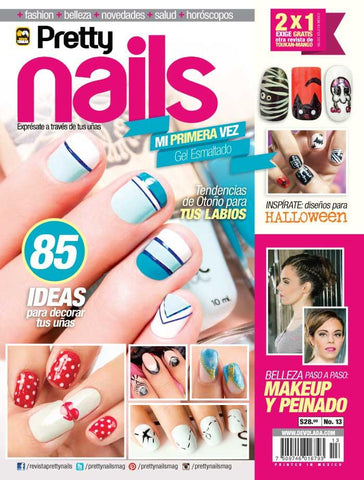 Revista Pretty Nails no. 13 - Inspírate - Formato Impreso