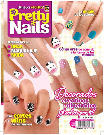 Pretty Nails 1 - Decorados creativos y divertidos - Formato Digital - ToukanMango