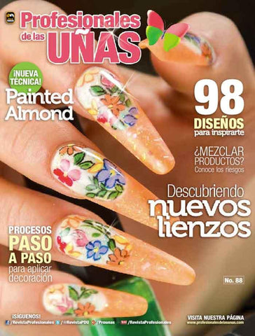 Revista Profesionales de las Uñas no. 88 - Painted Almond