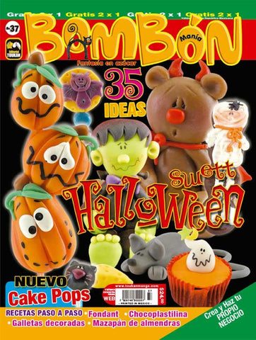 Revista Bombonmania no. 37 - Halloween Swett - Formato Digital