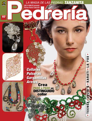 Revista Pedreria y Chaquira no. 117 - Un distinguido collar - Formato Impreso