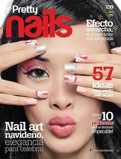 Pretty Nails 6 - Nail art navideño - Formato Digital - ToukanMango