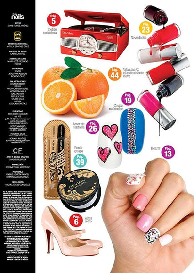 Pretty Nails 8 - Retro love - Formato Digital - ToukanMango