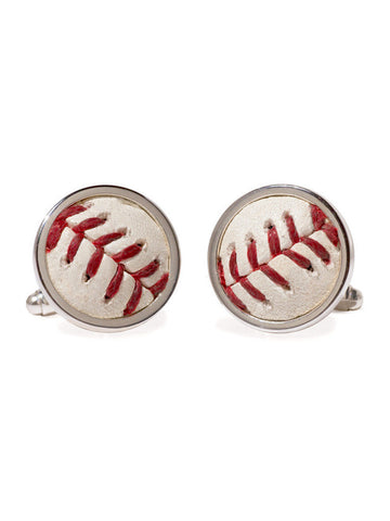San Francisco Giants Game Used Baseball Cuff Links