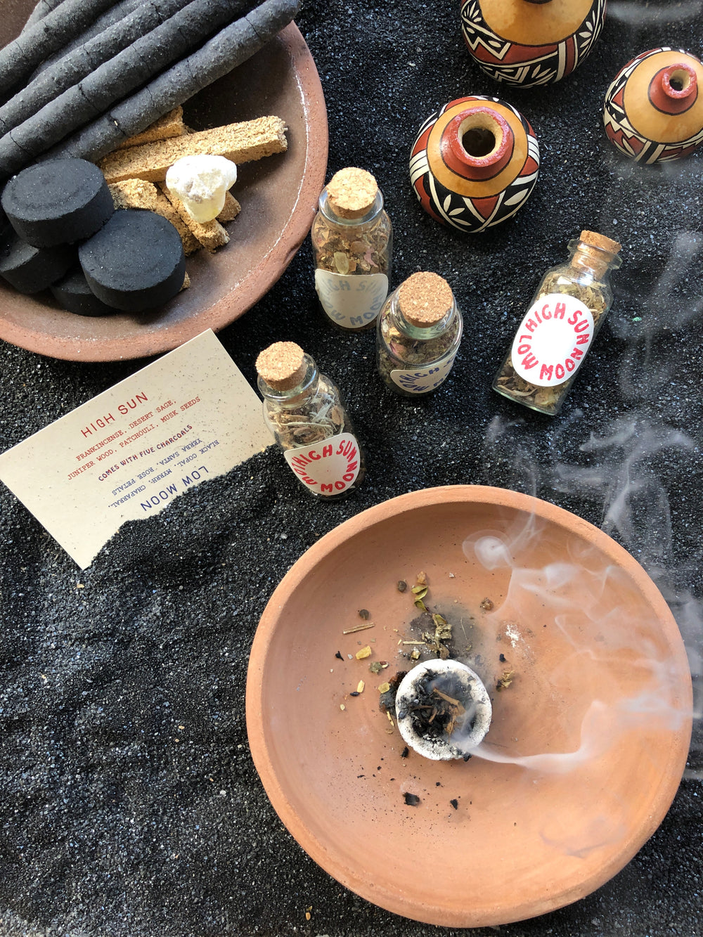 High Sun, Low Moon - Incense Blend Set