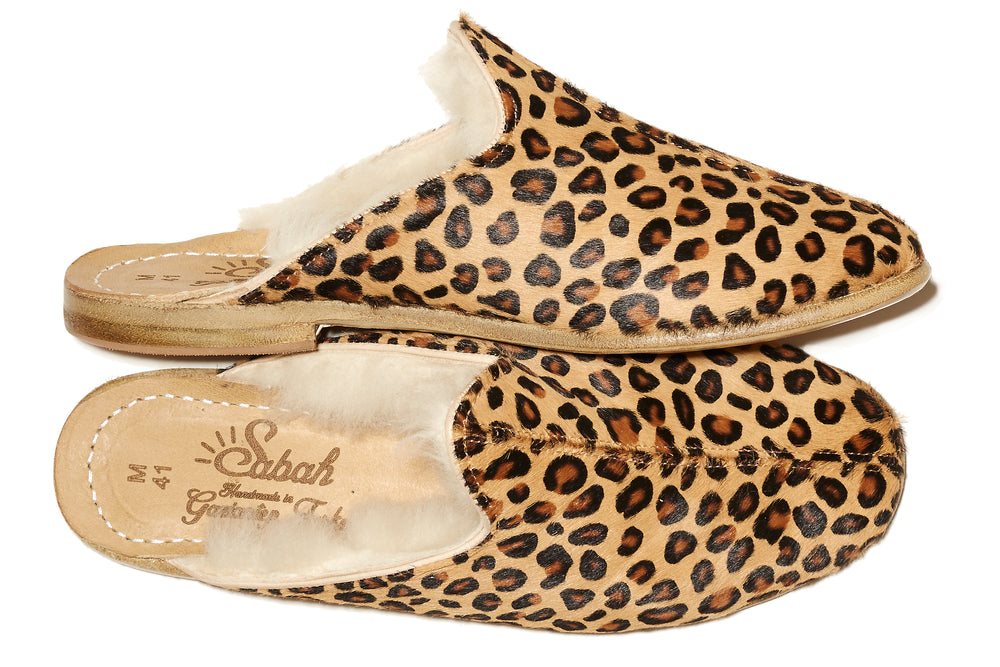 LAST CALL: Shearling Snow Leopard