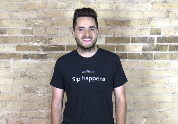 Sip Happens- The Men's Quote Shirt