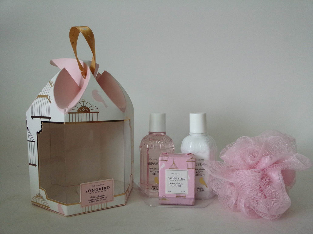 Pretty Valley Home 4pcs Bath Gift Set In Paper Box With Pvc Window Pretty Valley Usa