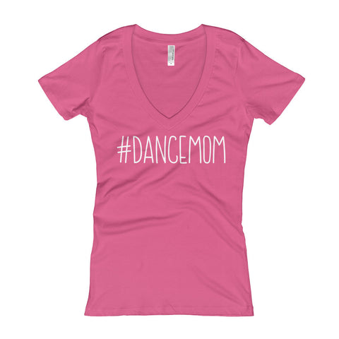 Dance Mom Women's V-Neck T-shirt