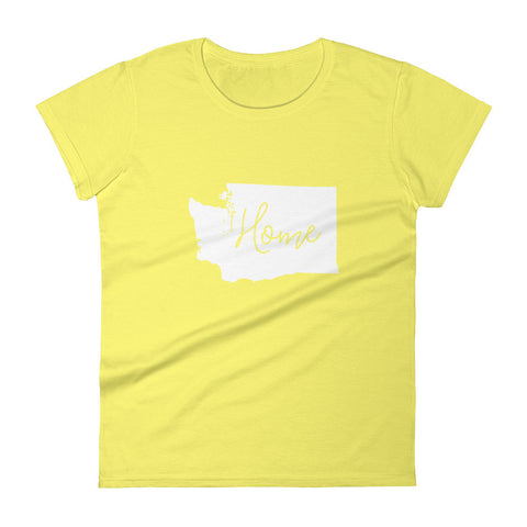 Washington Women's short sleeve t-shirt : 14 Colors