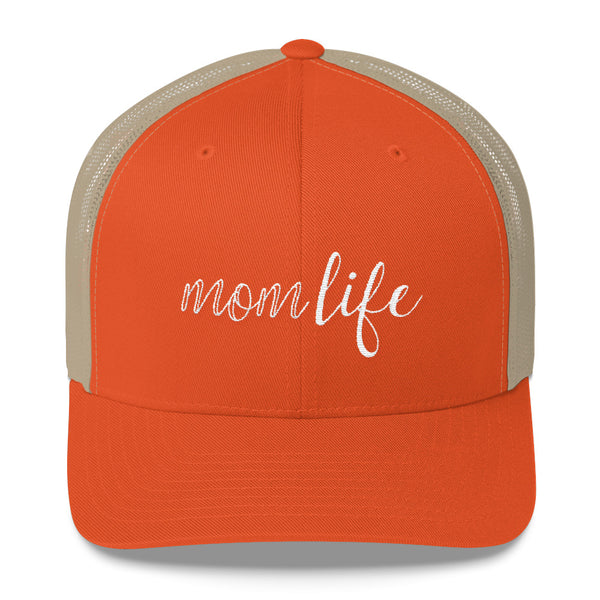 Mom Life Trucker Cap