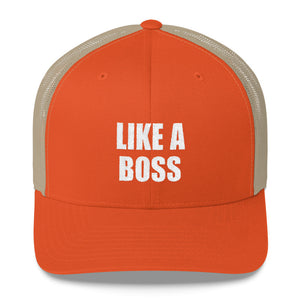 Like a Boss Mom's Trucker Cap