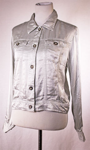 Hard Tail Forever Jean Jacket in Dove
