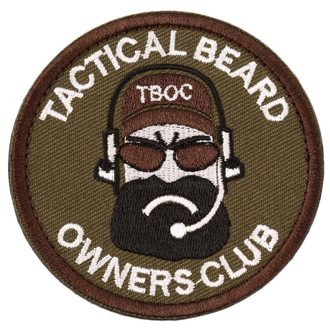 Tactical Beard Owners Club Morale Patch