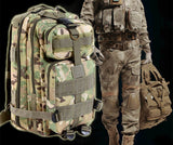 9 color Men Women Outdoor Military Army Tactical Backpack Trekking Sport Travel Rucksacks Camping Hiking Trekking Camouflage Bag