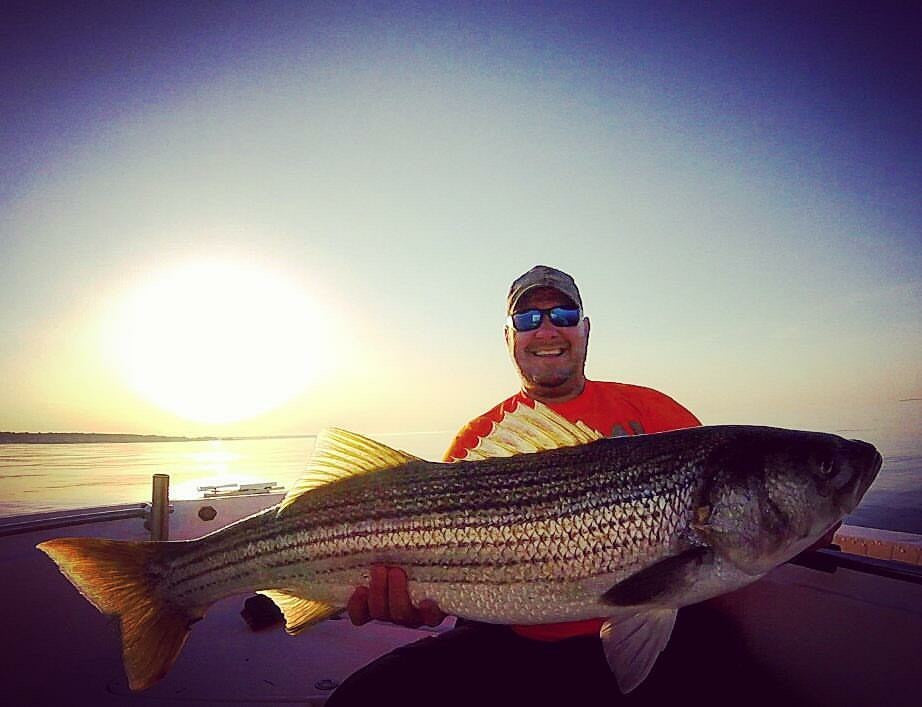 Congratulations to WRSC Prostaff Member Joe Diorio on his latest monster Striped bass!