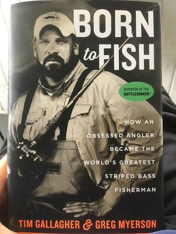 Born To Fish Book Cover