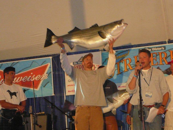 Greg Myerson World Record Striper