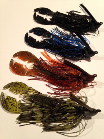 Image of entire Collection of Radfish Rattle Craw Jig