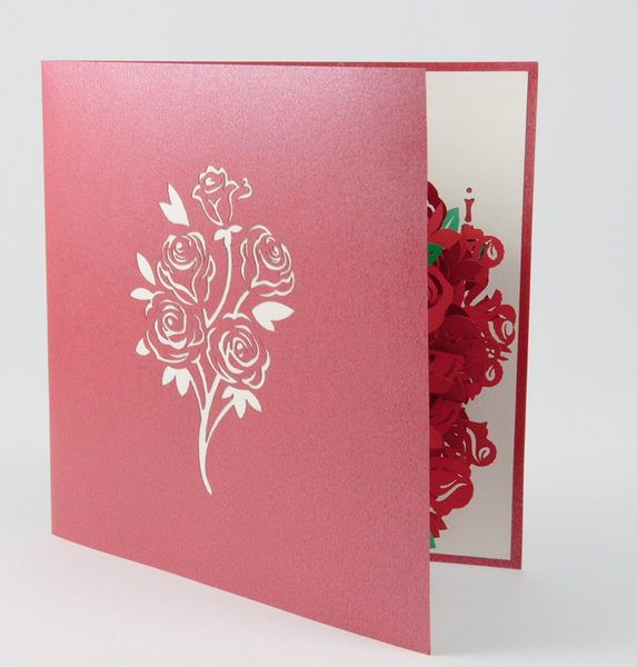 Bouquet PopUp Card
