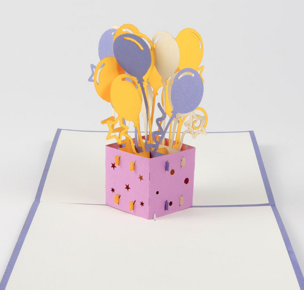Balloon PopUpCard