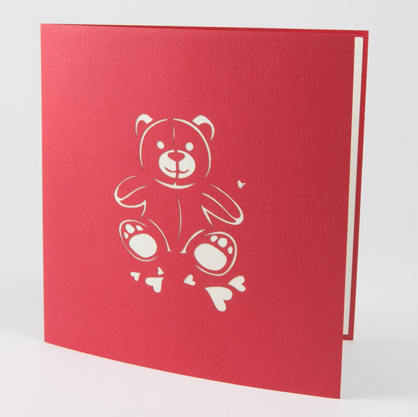 """I love you"" Bear PopUp Card"