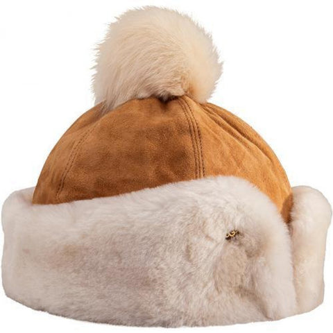 14252 - Flap Hat Chestnut
