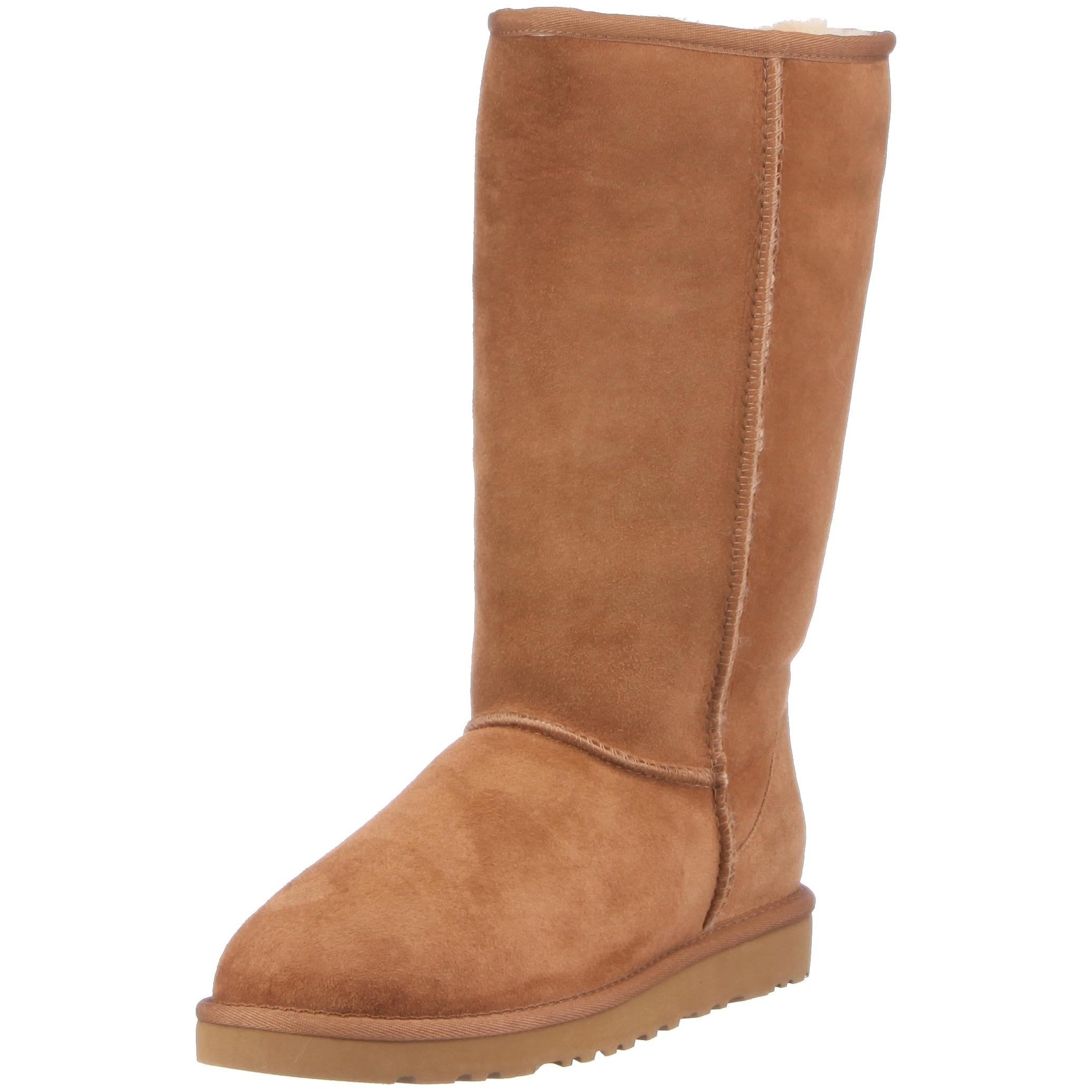 ugg classic tall chestnut size 5
