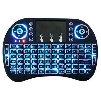 MINI LED WIRELESS KEYBOARD & TOUCHPAD MOUSE