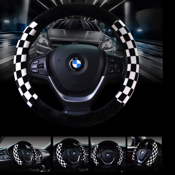 Cool Sport Style Warm Plush Car Steering Wheel Cover Bling - High Maintenance Bitch