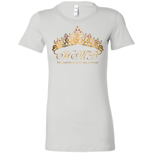 HMB (Tiara) Ladies' Favorite T-Shirt n(Light Colors) Bling - High Maintenance Bitch