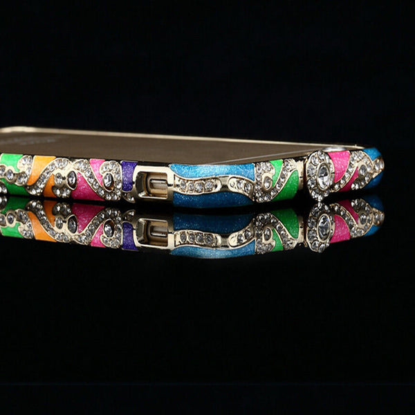 Multi Color luxury Crystal Rhinestone Bling Bumper