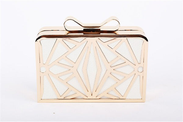 Ladies Fashion Gold Accent Clutch Purse Bling - High Maintenance Bitch